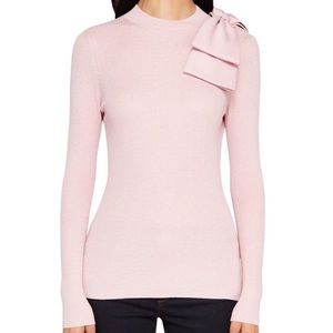 NWT Ted Baker London Pink Bow Sweater